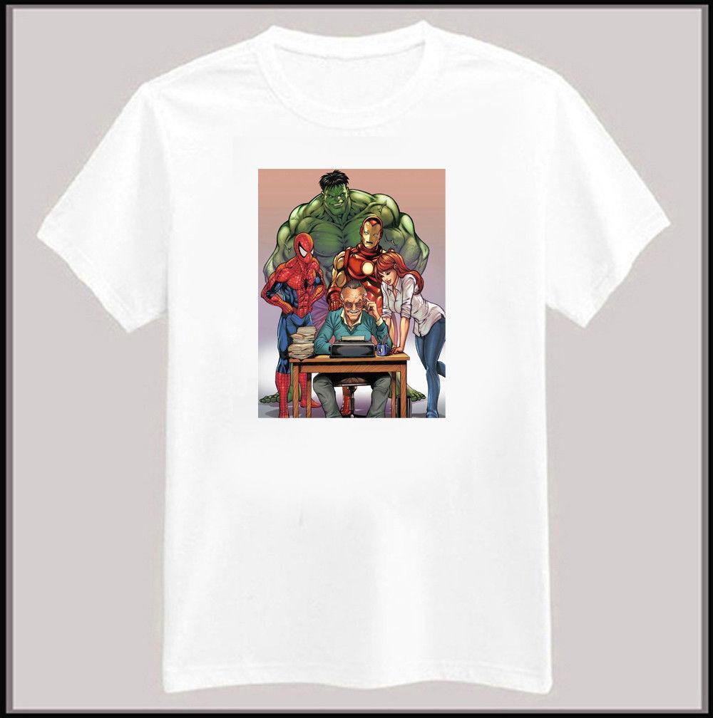 77fa658a Stan Lee Marvel Universe Comic Book T Shirt Cheap T Shirts Long Sleeve T  Shirts From Goodluck064, $11.63| DHgate.Com