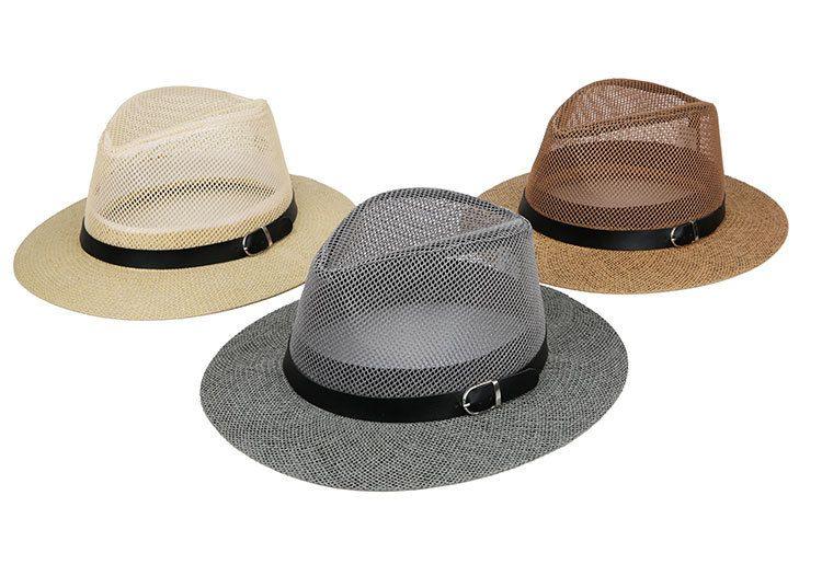 3239b3e057392 Unisex Women Men Hat Sun Straw Hats Cap Soft Fedora Panama Belt Hats  Outdoor Wide Brim Caps Spring Summer Beach Hat Hat World Ladies Hats From  Nbkingstar