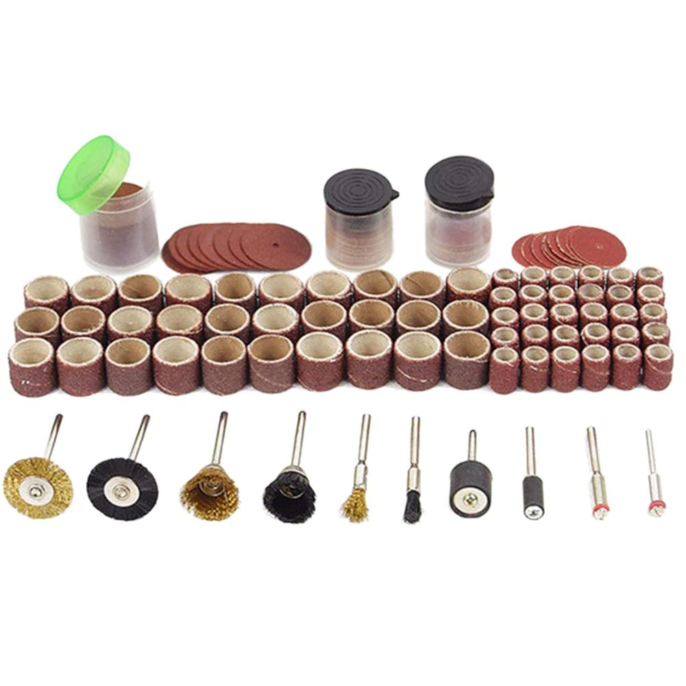 130pcs Rotary Power Tool Adatto Dremel Shank di levigatura polacco accessori Bit Set