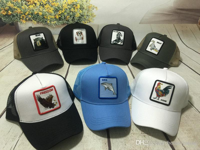 baf422be7 Wholesale 2019 Men's Animal Farm Snap Back Trucker Hat More 22+ styles Drop  Shipping Mix order