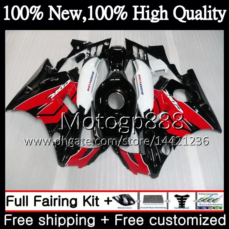 Honda Red Black CBR 600F2 FS CBR600 F2 91 92 93 94 AAPG3 CBR600FS CBR 600 F2 CBR600F2 1991 1992 1993 1994 Red Fairing Bodywork