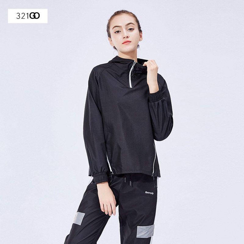Trainings- & Übungs-jacken Jacken Aktiv Jacke Mantel Frauen Sport Jacke Zipper Mit Hoodie Sweatshirt Yoga Shirt Sport Shirt Sport Trainingsanzug Fitness Kleidung Yoga Top