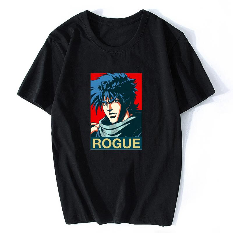 Joseph Joestar JoJo Bizarre Adventure Funny T-shirts for Man Japan Anime  Printed Fashion T Shirt Plus Size Casual Tees Tops