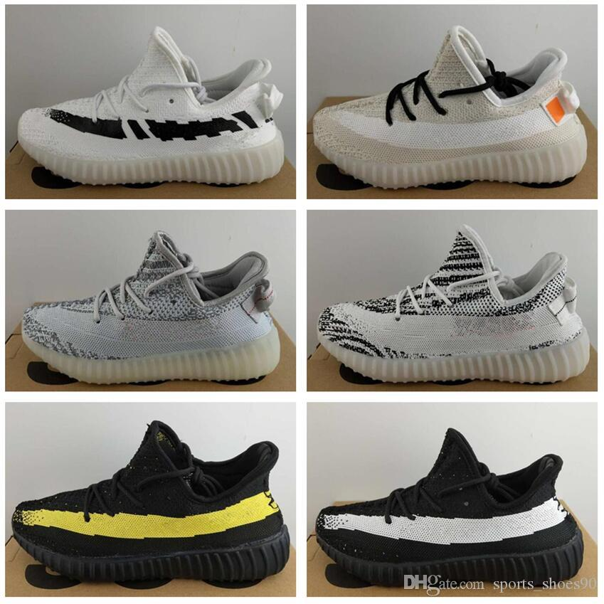 Hot Semi Frozen Yellow B37572 air Gum Sole v2 Beluga 2.0 B37571 Blue Tint SPLY Zebra Black Red Zapatillas de running