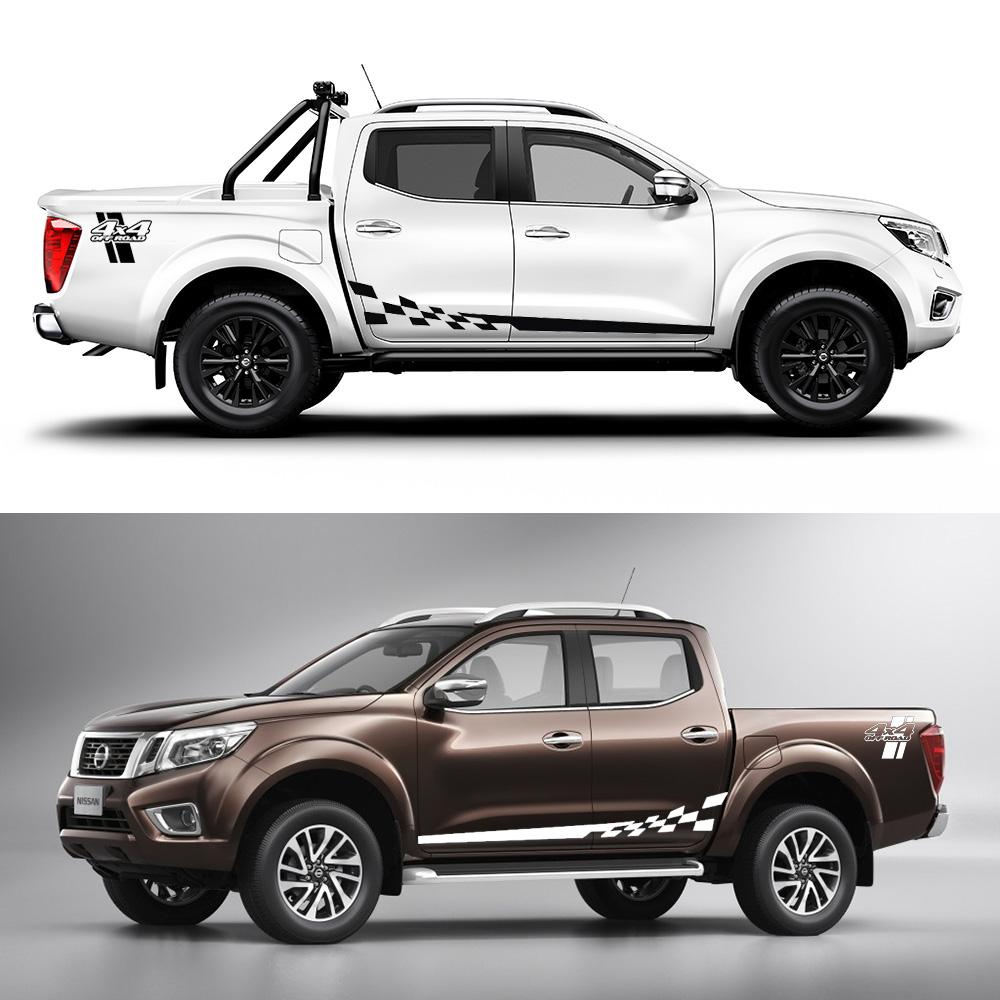 2019 sets decal sticker side stripes graphics l racing 4x4 off road for nissan navara from zhanhuacar 66 62 dhgate com