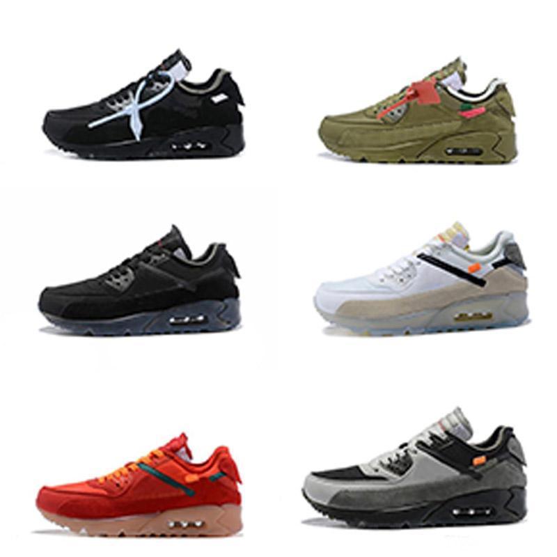 Mens 2019 90 Off Zapatos para correr Zapatillas de deporte Hombre Desierto Mineral Marrón Airing Diseñadores de moda Luxur moda para hombre para