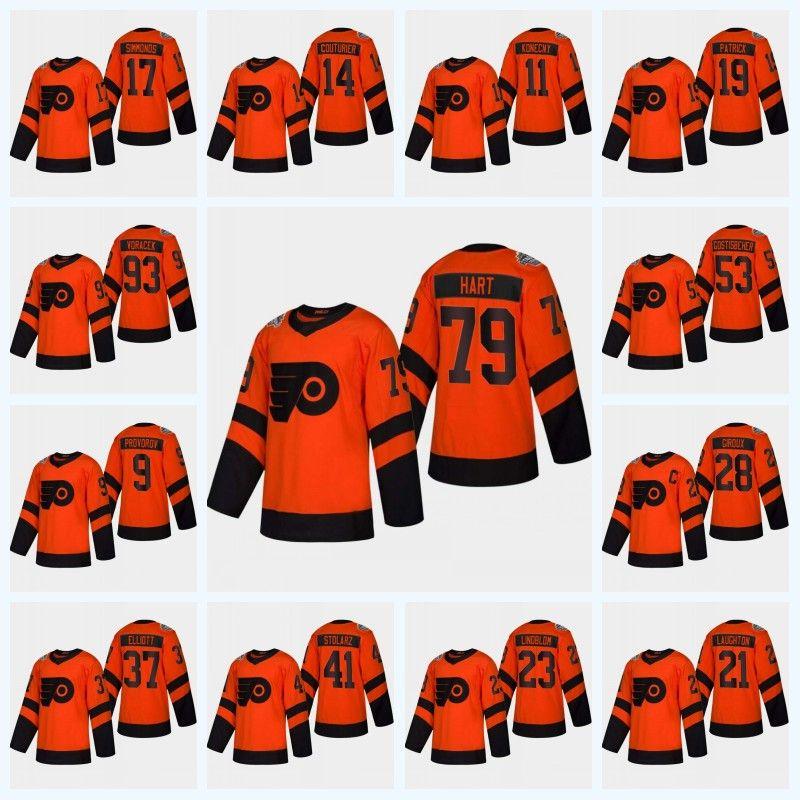 a36d93ac7 Womens Sean Couturier Philadelphia Flyers 2019 Stadium Series Jersey Carter  Hart Claude Giroux Konecny Gostisbehere Provorov Jakub Voracek Hockey  Jerseys ...