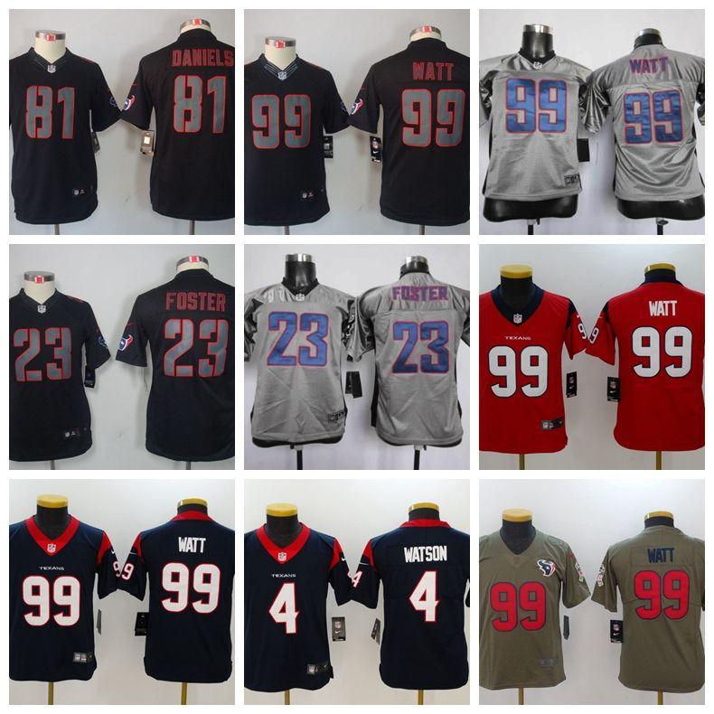 lowest price 494dd cc81b deshaun watson texans jersey youth