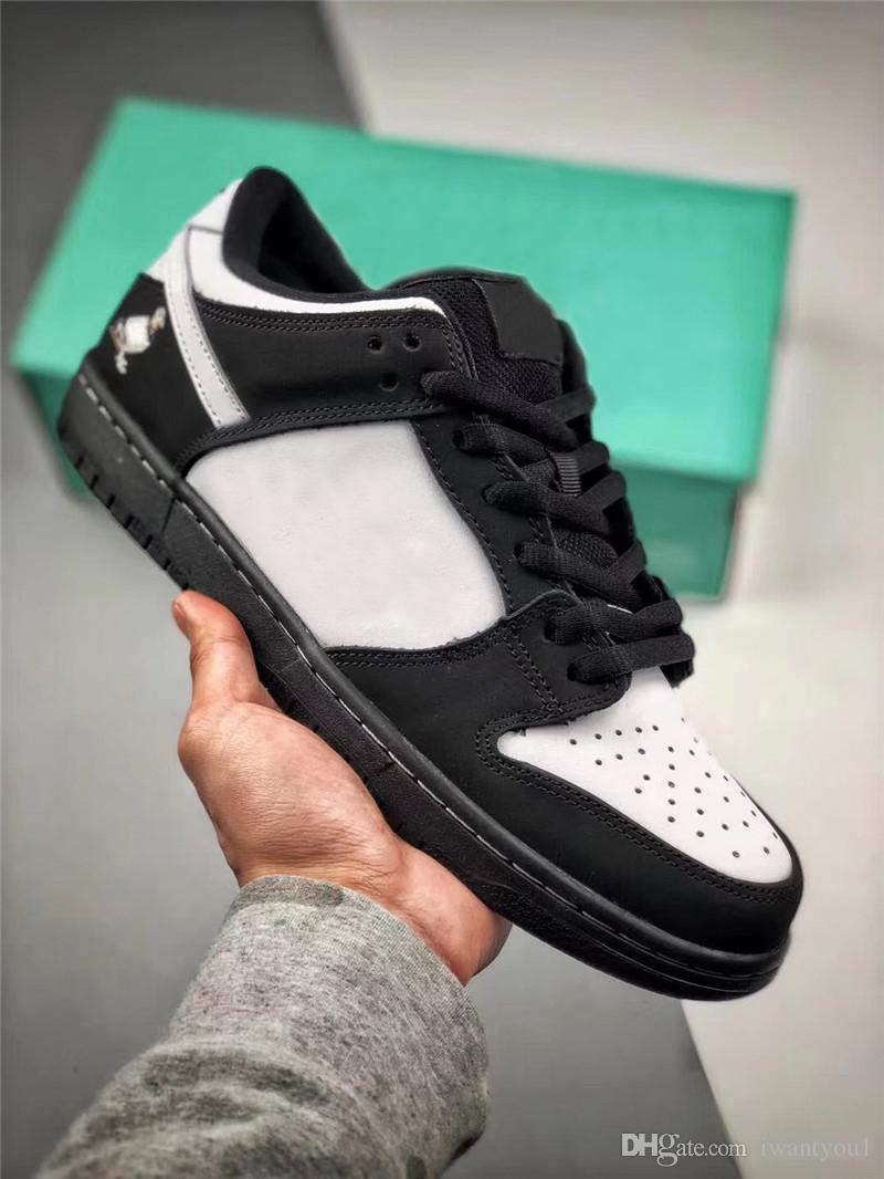 41d5c039971a 2019 2019 New SB Dunk Low Staple Panda Pigeon Pro OG QS Basketball Shoes  BLACK WHITE GREEN GUSTO Mens Sports BV1310 013 With Original Box 39 45 From  ...