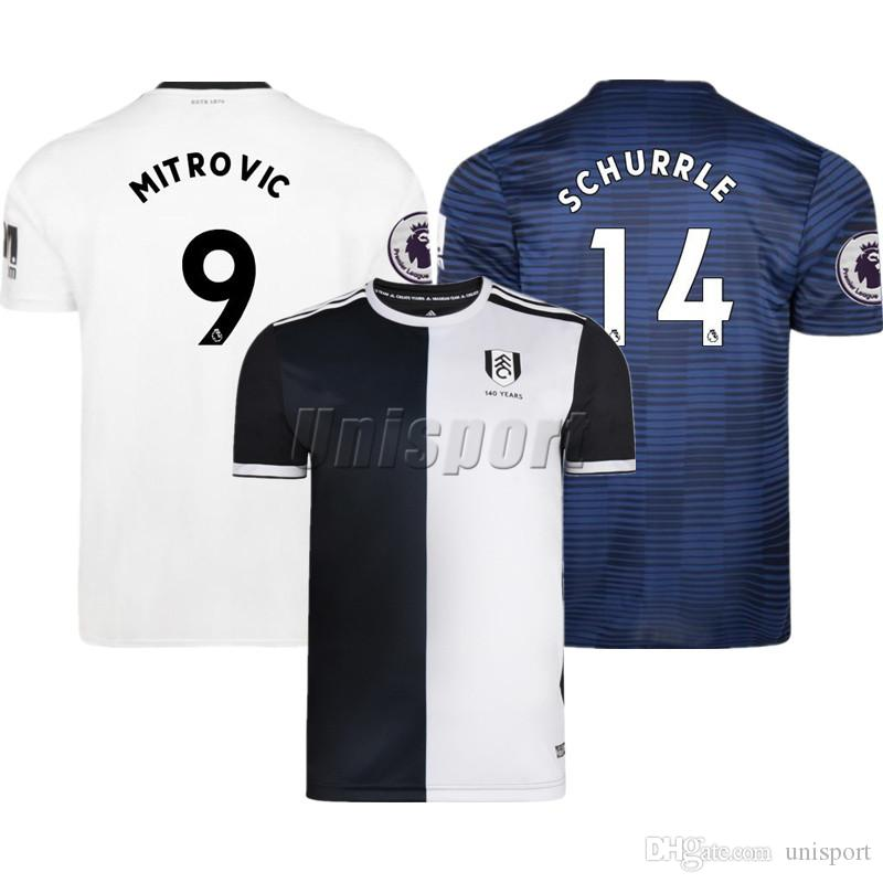7cb4d31913f 2018 19 Mitrovic Schürrle Soccer Jerseys Futbol Camisa Football Camisetas  Shirt Kit Maillot Mitrovic Schürrle Soccer Online with  20.12 Piece on  Unisport s ...