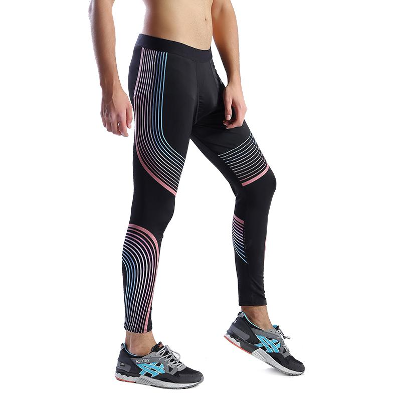 31f69360b1 2019 12040B Workout Fitness Men Trousers Men Thermal Muscle Bodybuilding  Wear Compression Elastic Slim Exercise Clothing From Yiyunwat, $43.25    DHgate.Com