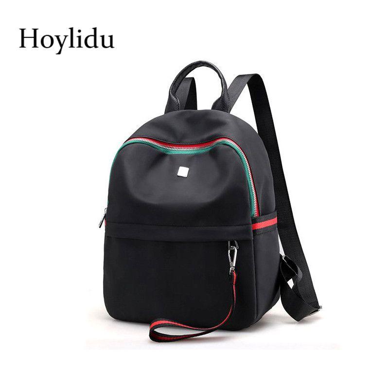 2019 FashionWaterproof Oxford Women Backpack School Bags For Teenage Girls  Yellow Daypack Large Capacity Travel Back Pack Female Book Bag Laptop  Rucksack ... cb19586b50da5