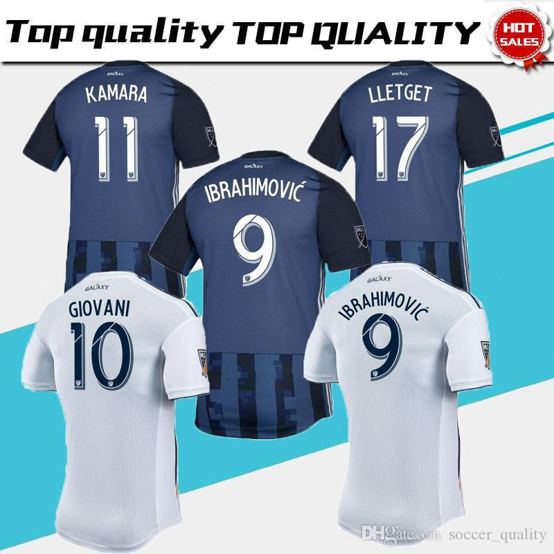2019 Thai Quality 2019 LA Galaxy Soccer Jersey 19 20 Los Angeles Away  Jersey Ibrahimovic Alessandrini From Soccer quality fe299deeb