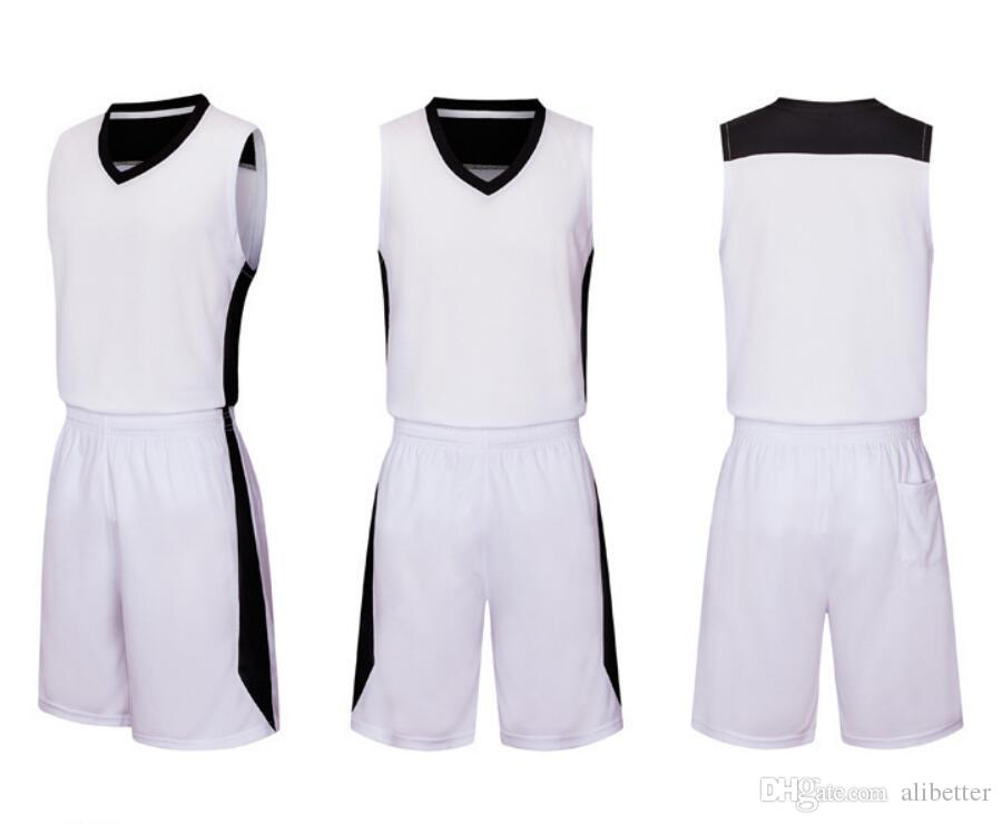 e91c77dbe Summer Basketball Jersey Sets Sports Wear Shirt Pants Sports Suit Kid Training  Sports Breathable Team Competition Basketball Jersey UK 2019 From  Alibetter