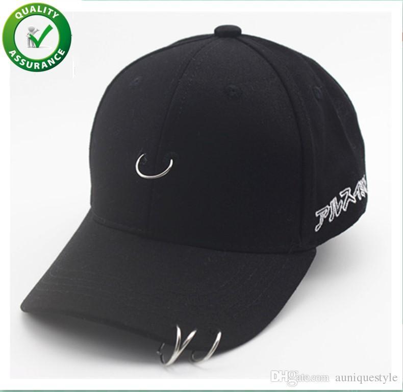 5df6f896d935e Designer Hats Parent Child Baseball Cap Boys Girls Cartoon Snapback Adjustable  Kids Hip Hop Hat Sun Caps Fashion Rock With Three Iron Ring Mens Hats ...