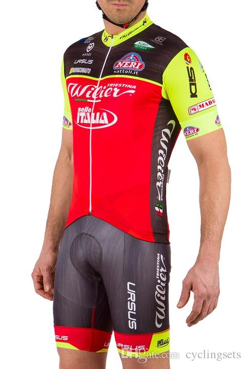Wilier Mens Cycling Jersey Short Sleeve Breathable Bike Bicycle ... a5180079a