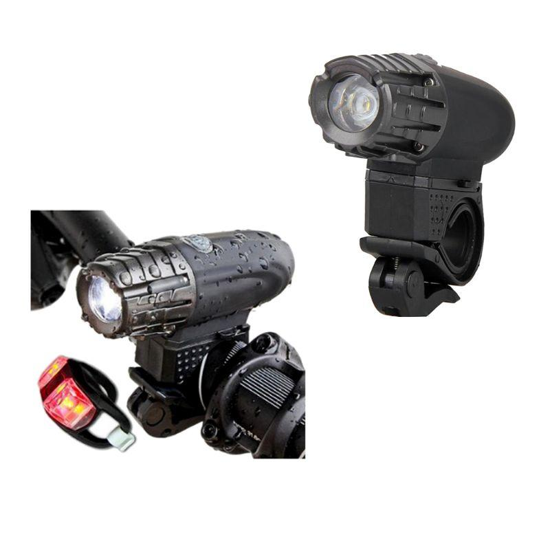 9b109ef38a3 Ultra Bright Mountain Bike Light USB Rechargeable Bicycle High ...