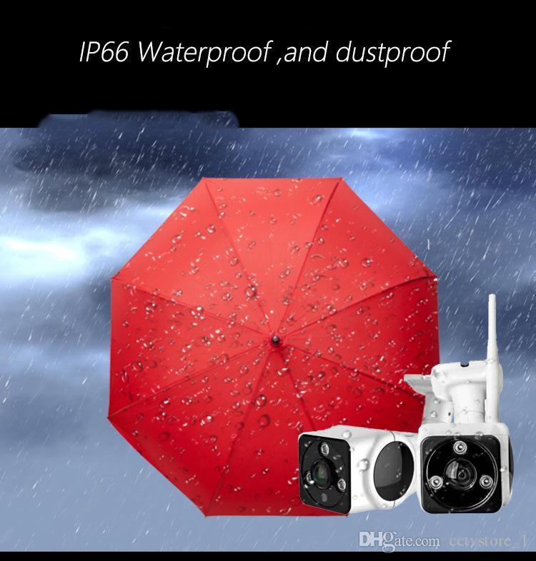 1080p вне TF карты V380 Wifi открытый безопасности CCTV IP-сети IP66 водонепроницаемый камеры