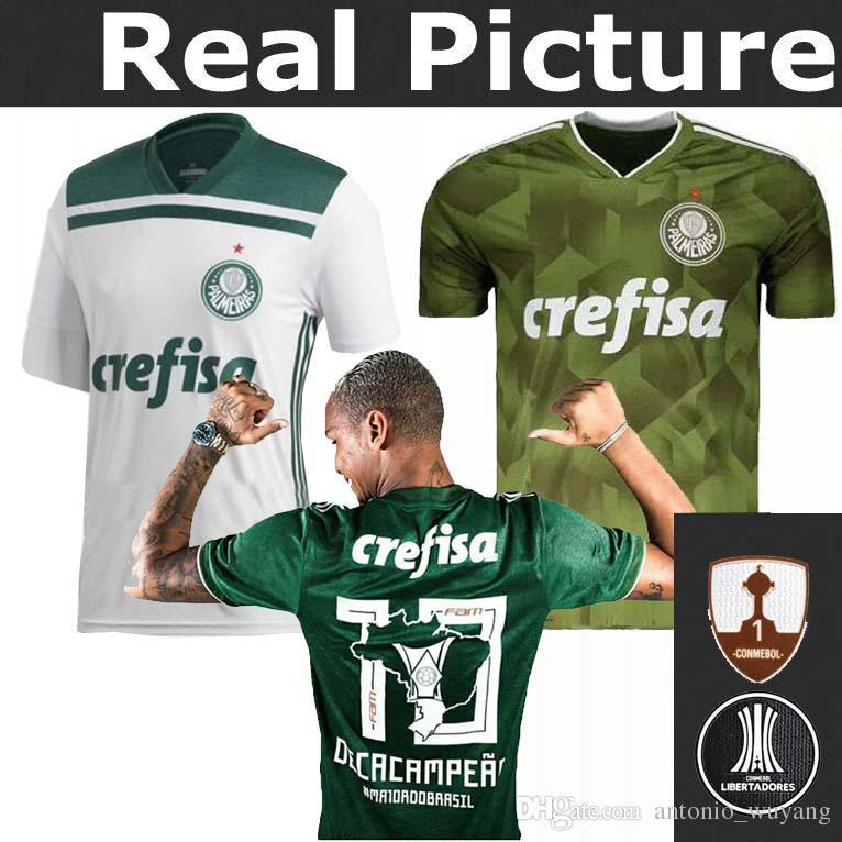 2019 2018 2019 Palmeiras Soccer JERSEY 18 19 Third Home Away A. GUERRA 18  BORJA 9 DUDU 7 FELIPE MELO A. GUERRA MOISES Football Shirts Soccer Wear From  . 2d9c25b63