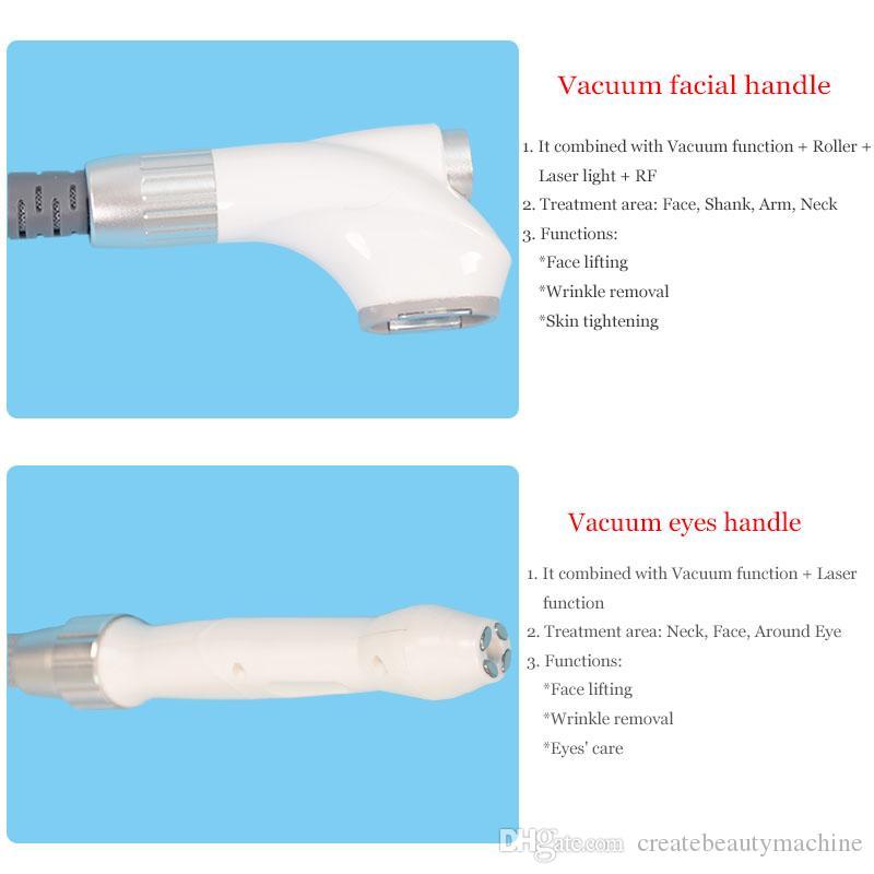 5 IN 1 velashape Vacuum Cavitation System cavitation rf slimming machine cellulite removal Velashape body slimming System