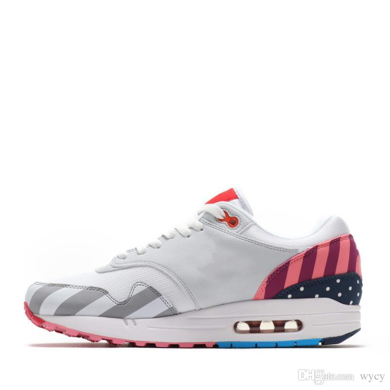 e490c8d99de With Box New Sale Netherland Designer Piet Parra x 1 White Multi Rainbow  Retro Running Shoes for 1s Women Men Trainers Sports Sneakers