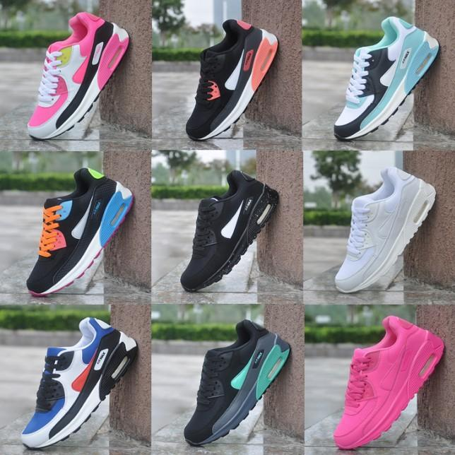0676c24b7e07e 2019 Men Women Sneakers Shoes Cheap Classic Ladies Air Running Shoes Black  Pink White Trainer Sports Shoes Cute Shoes Mens Shoes Online From Runes, ...