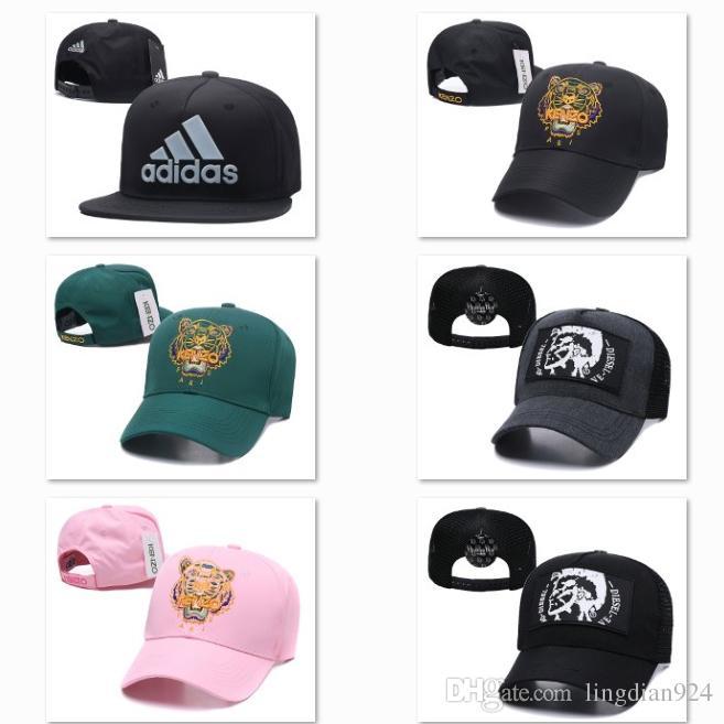 f789d108 2019 Summer Sun Hats Designer Men Cap Gold Logo Embroidered Trendy Womens Baseball  Caps Raf Simons Fitted Golf Ball Caps DF17G6 Ny Cap Mens Caps From ...