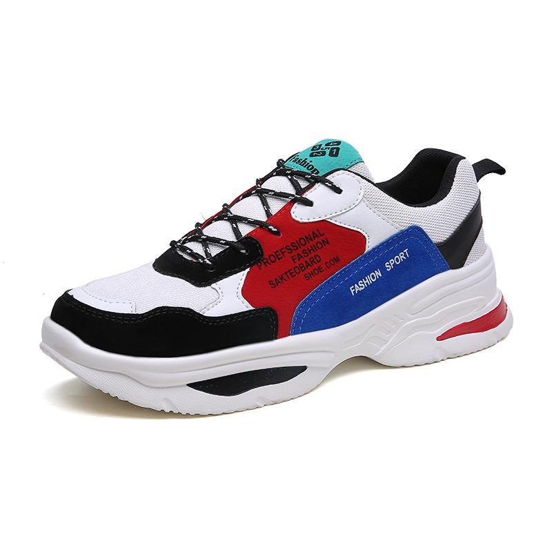 Zapatillas de running para hombre 2019 Primavera Zapatillas de deporte para correr al aire libre Jogging transpirable Zapatillas deportivas Deportivas