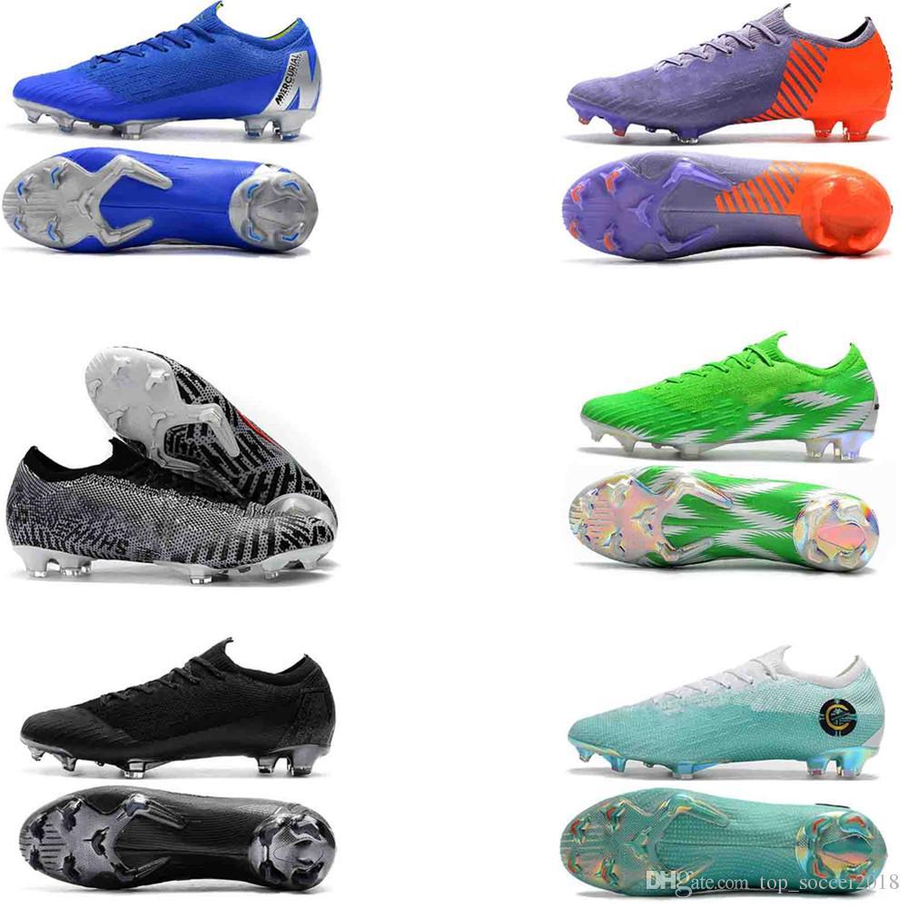 d7267646d 2019 Mens Low Ankle Football Boots CR7 Superfly KJ VI 360 Elite FG ...