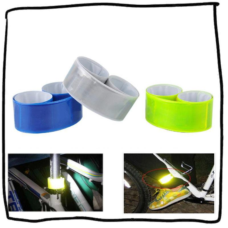 Reflective Tape Running Leg Strap Cycling Reflective Strips Safety Warning