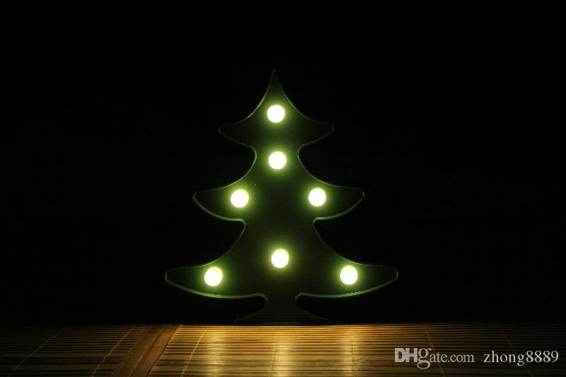 Cactus Christmas Tree.Christmas Tree Led Flamingo Unicorn Night Lights Pineapple Cactus Star Luminary Wall Lamp Decorations Lighting Gifts Christmas Holiday 2019