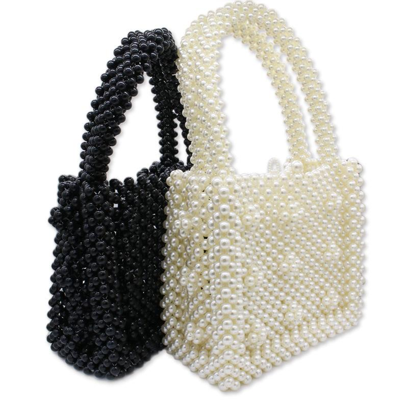 New handmade hand made pearl party bag Europe America ladies banquet ladies dress jewelry bag handbag female