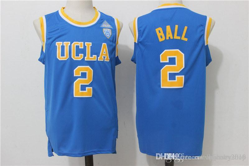 589173d0797a UCLA Bruins Lonzo Ball 2 College Tees Jersey Mens UCLA Bruins Lonzo Ball  Jersey Online with  31.95 Piece on Topjersey2019 s Store
