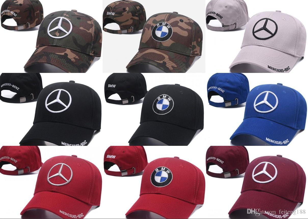 2a71b1eb8 New Arrival Brand Designer 100% Cotton M Power Logo Adjustable Embroidery  Snapback BMW Car Baseball Hat Unisex Racing Baseball Cap