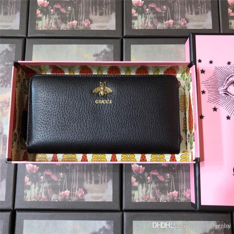 a0be0813fc3621 Animalier Leather Zip Around Wallet 523667 DJ20T 1000 Luxury Designer  Fashion Women And Men Purse With Box Owl Wallet Visconti Wallet From  Supplier_lai, ...