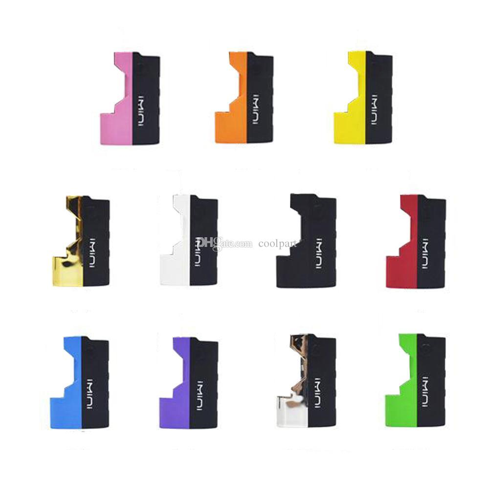 Imini mod for Thick Oil Cartridge 500mAh vape Mods 510 thread Battery Bho  Oil Wax Atomizer vape pen batteries fit bud mini cartomizer