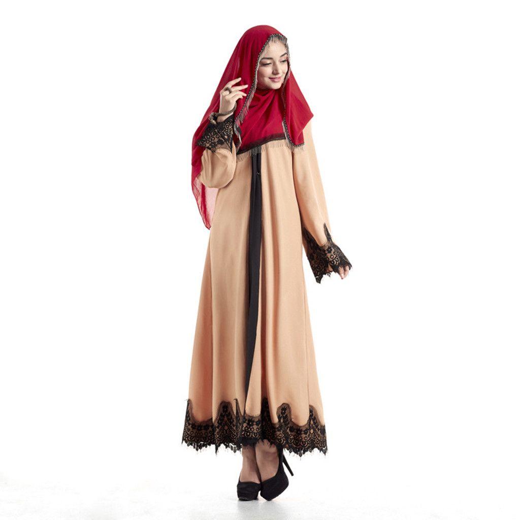 6bf52e46e4c3 2019 Dubai Dresses Evening Abaya Maxi Dress Muslim Women Islamic Robe  Kaftan Moroccan Modest Dress Long Sleeve Cardigan Kaftan 4.12 From  Glorying, ...