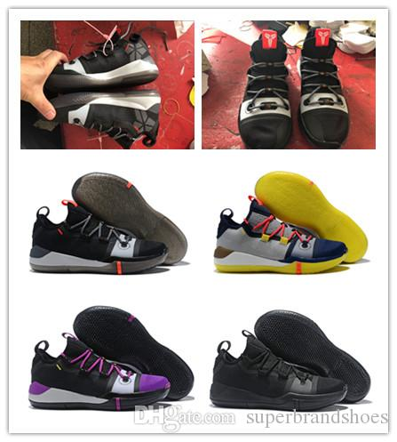 78ed2ab2078 New Kobe Black Toe Basketball Shoes High Quality Kobe Bryant EP Mamba Day  Sports Sneakers For Sale Online with  59.43 Pair on Superbrandshoes s Store  ...