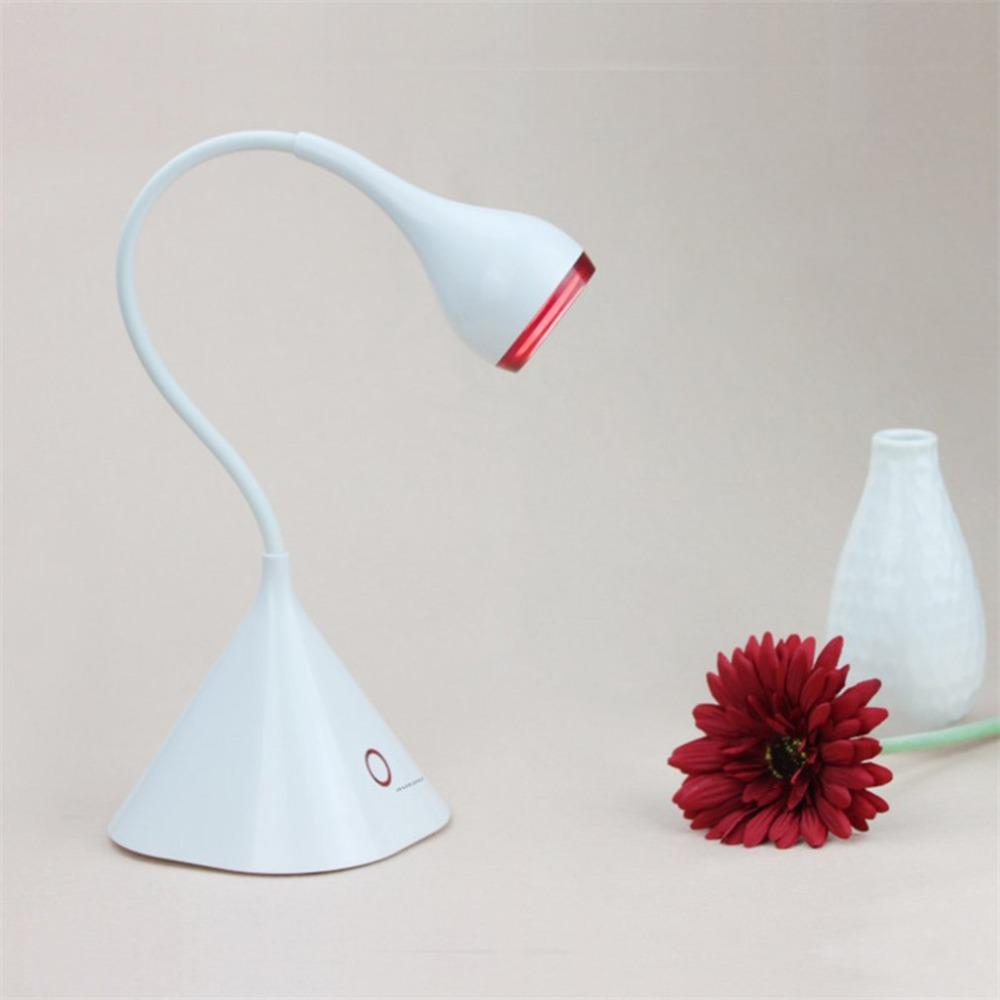 Led Fashion Touch Table Lamp Usb Charging Writing Lamp Portable 3 Level Intelligent Dimming Led Lamps Led Table Lamps