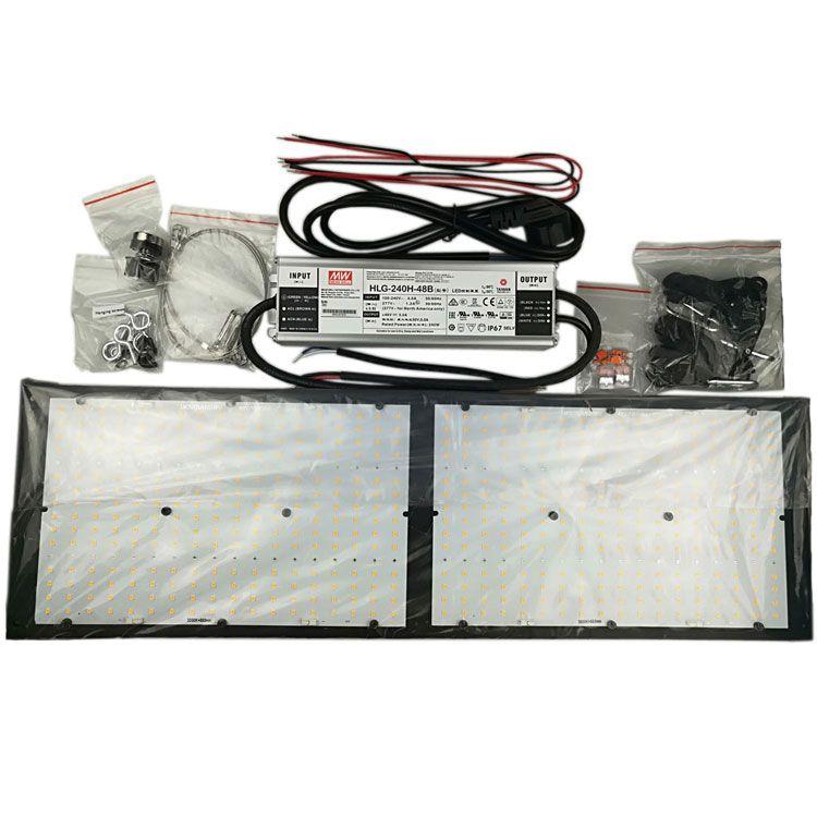 240W HLG QB288 Samsung lm301b 3000k 3500k mezcla de tablero cuántico  Epistar 660nm
