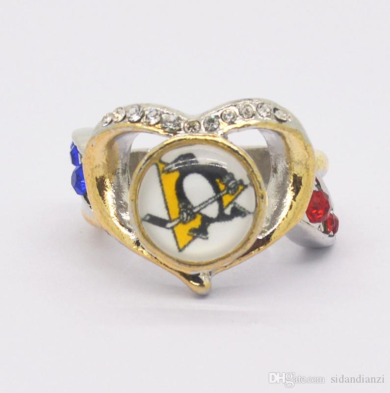 Fashion Lady Ring Pittsburgh Penguin Champion Ring Women's Ring Manufacturer Fast Shipping