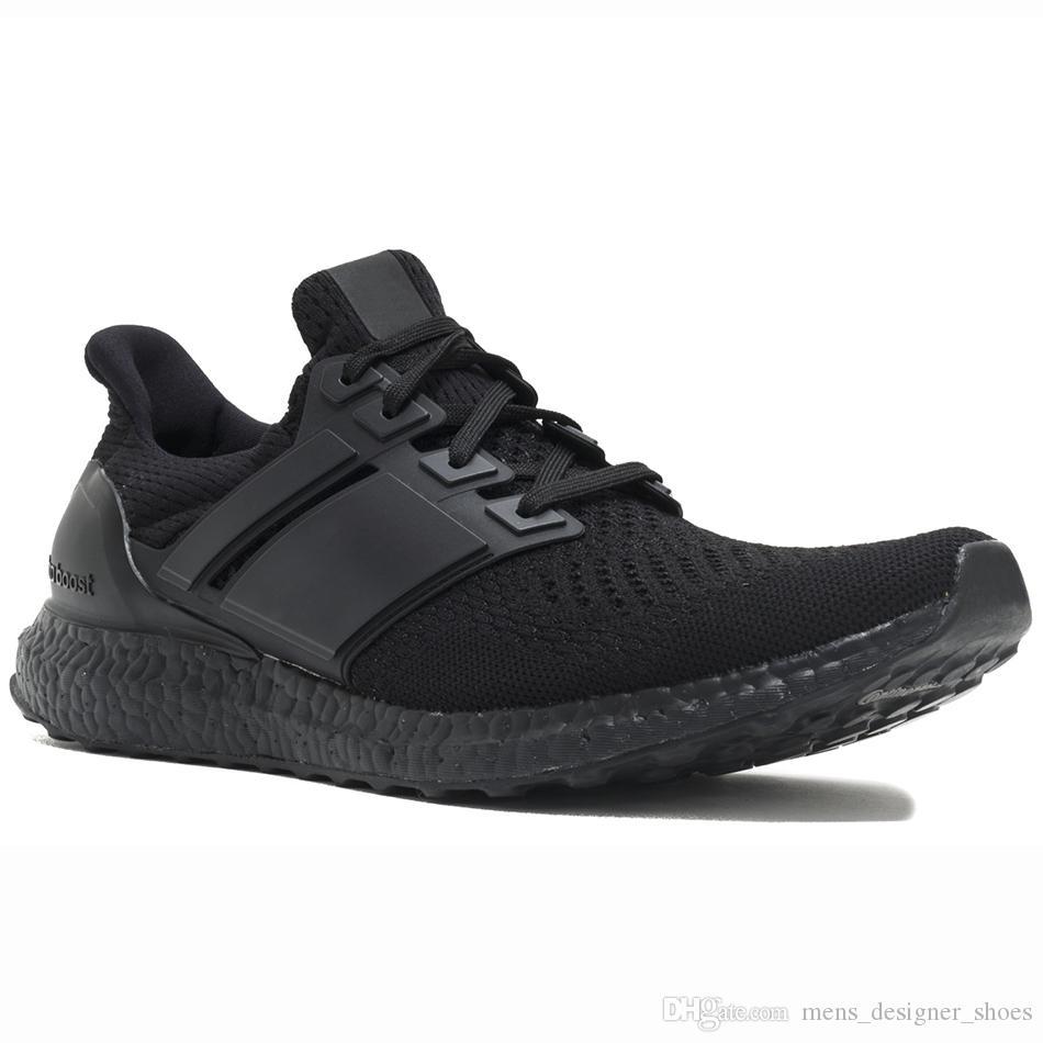 hot sale online 78c8e 76f99 Acheter Adidas Ultra Boost 3.0 4.0 5.0 Hommes Femmes Chaussures De Course  Triple Noir Blanc Primeknit Oreo CNY Bleu Gris Ultraboost Sport Sneakers De   77.7 ...
