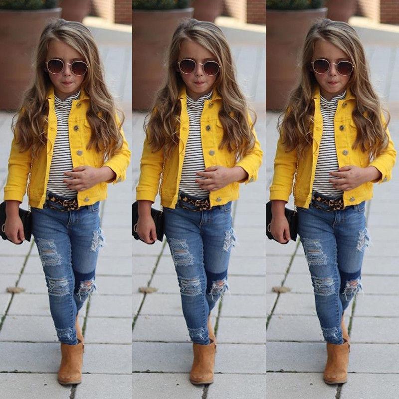 dc59cb94c28b 2019 Newly Toddler Girl Clothes Jacket Big Kids Child Baby Boy Girl ...