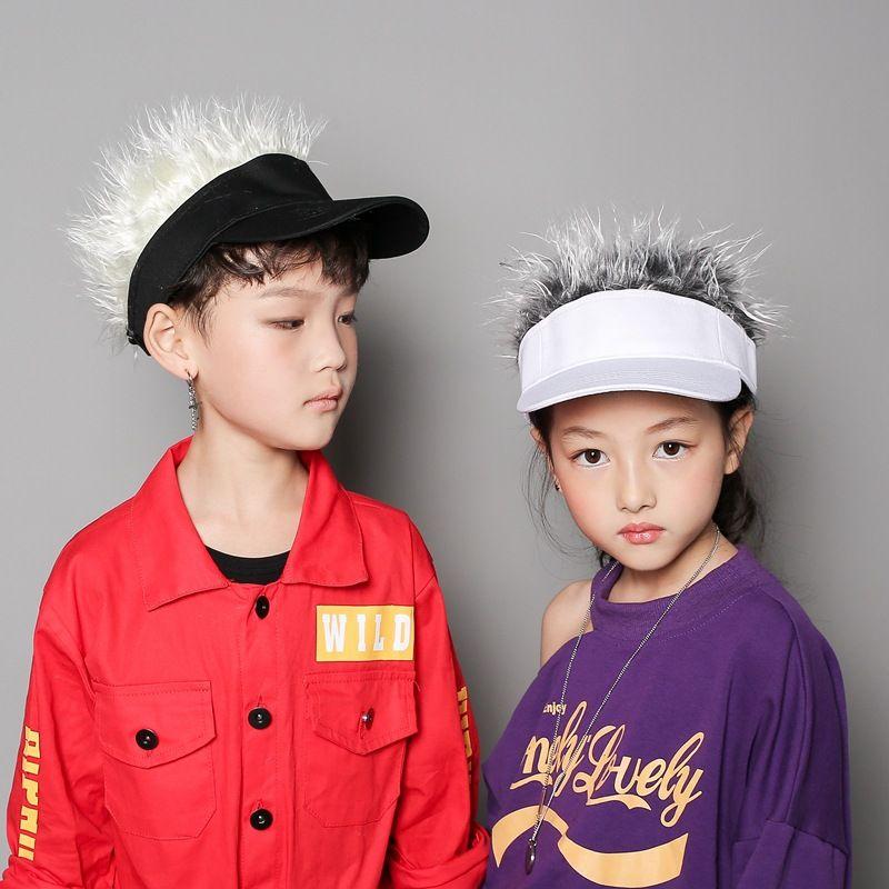 Novelty Unisex Kids Adults Cap Fake Flair Hair Sun Visor Hats Caps Men  Women Toupee Wig Funny Hair Loss Cool Gifts Golf Cap Hat Hats For Men  Hatland From ... 449a5194673e