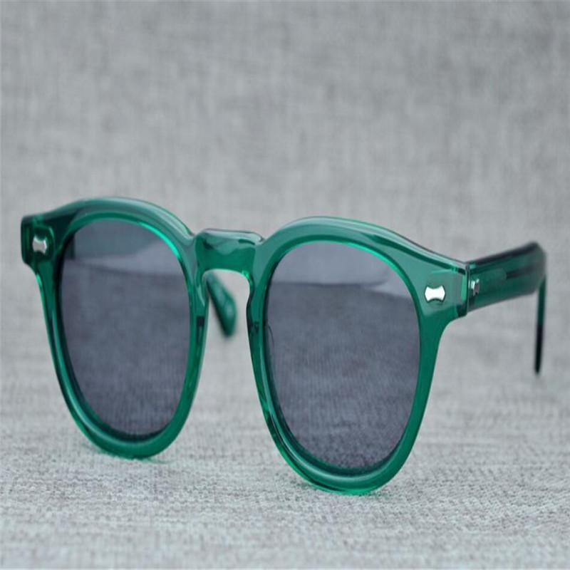 6af0b59f2e07 Retro Fashion Unisex Fashion Acetate Full Rim Polarized Sunglasses ...