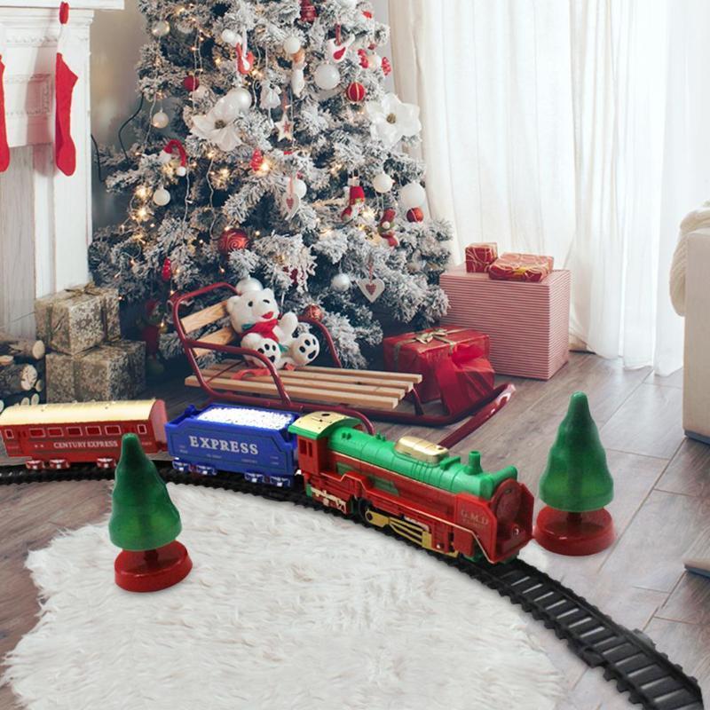 Childrens Christmas Musicals 2019 2019 Newborn Baby DIY 2019 Christmas Tree Musical Train 12 Tracks