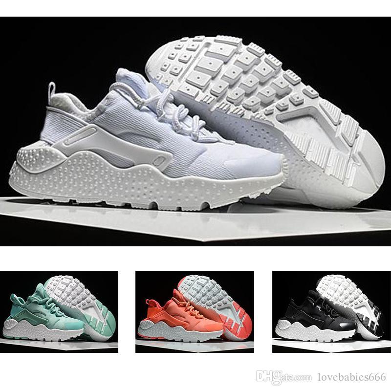 timeless design 79987 b3ca7 Großhandel 2018 Nike Air Huarache 1 3 4 Huarache Laufschuhe Große Kinder  Jungen Und Mädchen 12 Schwarz Weiß Hohe Qualität Turnschuhe Huaraches  Jogging ...