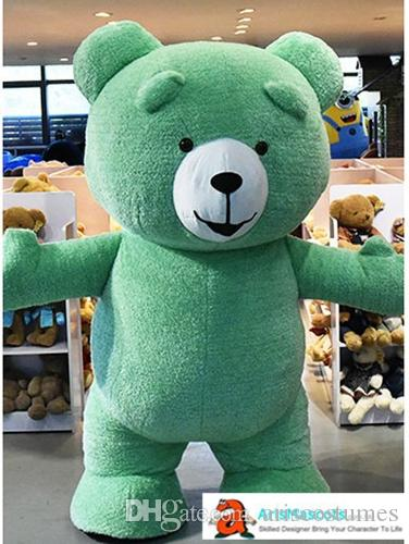 6166416e145 200cm 6ft 6inches Adult Size Funny Inflatable Suit Teddy Bear Mascot Costume  For Party And Opening Ceremony Theme Park Deguisement Mascotte Childrens ...