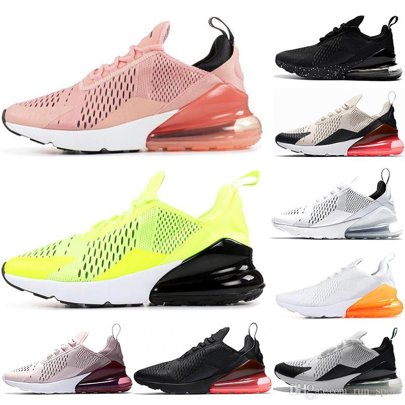 b08e131bccf8 Triple Black White 270 Running Shoes Navy Photo Blue Teal Mens Trainer  Sports Medium Olive Volt Hot Punch Women 270s Sneakers 36-45 270 Running  Shoes 270 ...