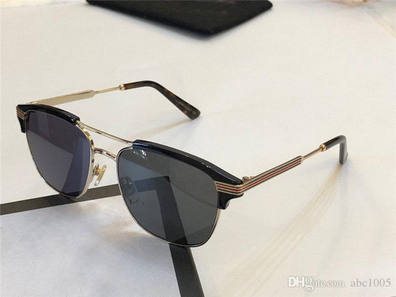 e303d18d47c7 2018 Hot FashionLuxury Brand Designer Sunglasses 0241 Retro Cat Eye Frame  Fashion Style Top Quality And UV400 Lens Protective Eyewear Mens Eyeglasses  Sport ...